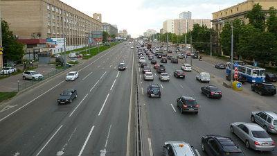 Ленинградское шоссе перекрыл…