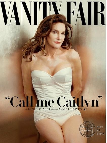 Отчим Ким Кардашьян появился на обложке Vanity Fair после смены пола