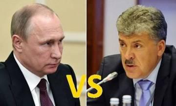В борьбе фанатов Путина и Грудинина аргументов нет – лишь бешенство эмоций