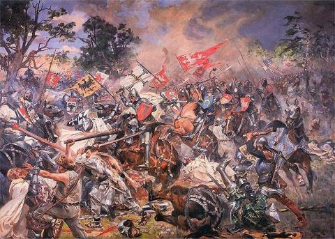 Когда Литовцы владели Русски…
