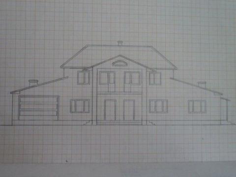 Своими руками: постройка коттеджа