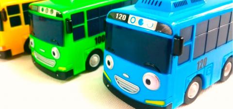 Тайо маленький автобус мультик с игрушками. Изучаем время суток. Мультфильм про машинки и автобусы.