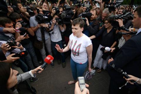 Надiя Савченко — озабоченная…