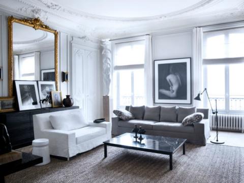 Белоснежный интерьер: элегантность и современное искусство