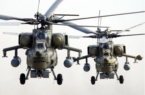 Ирак объявил о получении двух российских вертолетов Ми-28 «Ночной охотник»