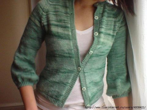 МК - Как превратить свитер в…