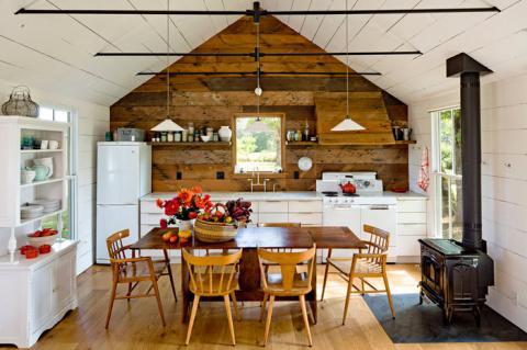 Как оформить небольшой старый домик с минимальными затратами и сделать его стильным