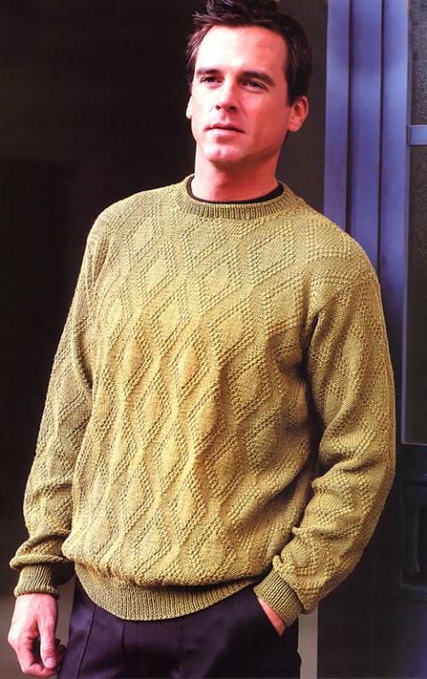 Классический пуловер
