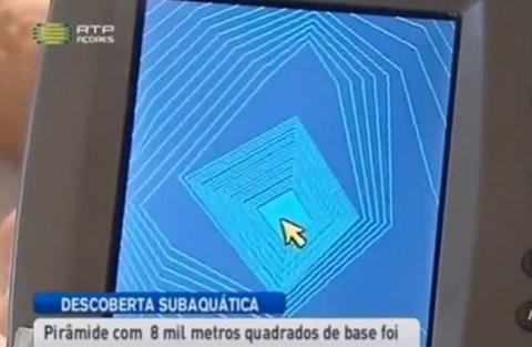 У Азорских островов обнаружили огромное пирамидальное сооружение  Источник: http://paranormal-news.ru