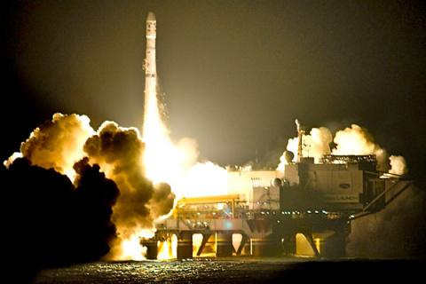 Россия оставит США без плавучего космодрома