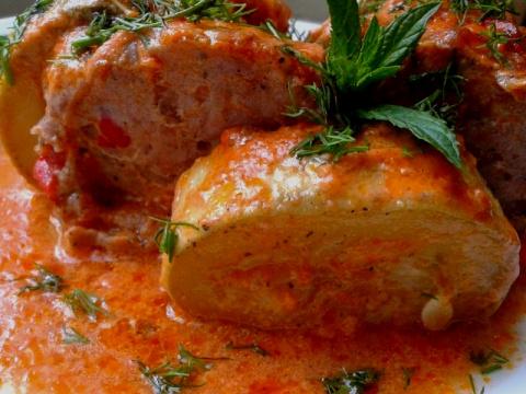 Запечённые кабачки - просто, быстро и вкусно!