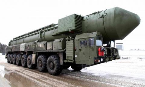 Минобороны РФ - Небольшой сбой курса российской ракеты РС-24 ЯРС.
