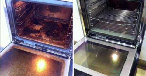 Как вымыть духовку без химии