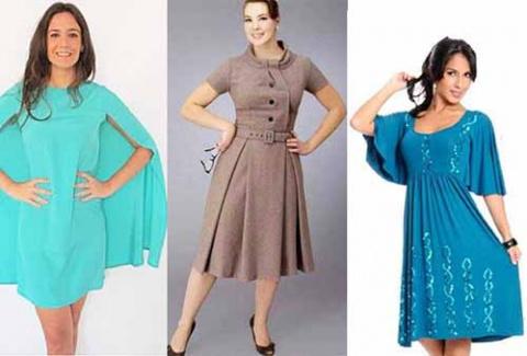 три платья с выкройками моделирование