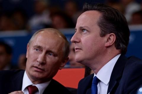 Путин и Кэмерон обсудили ситуацию в Донбассе