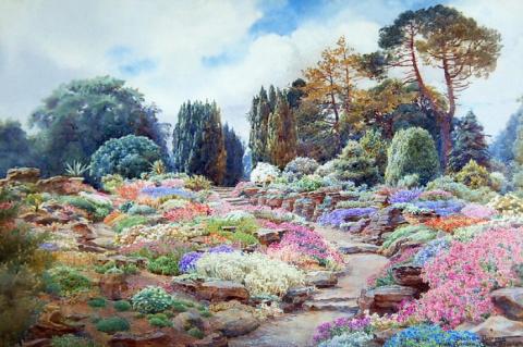Яркие акварельные сады художницы Beatrice E. Parsons