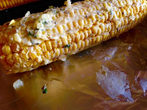 Кукуруза , как гарнир