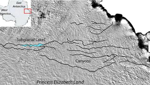 Самый большой в мире каньон …