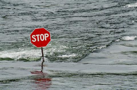 Странное наводнение на грече…