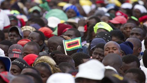 В Зимбабве конкурс на должно…