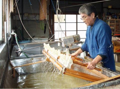 Японская бумага выбрана для списка наследия ЮНЕСКО