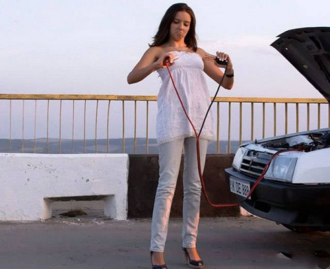 Приколы с женщинами за рулем
