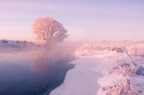 Зимняя красота природы