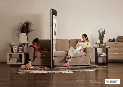 Смартфон - враг семьи