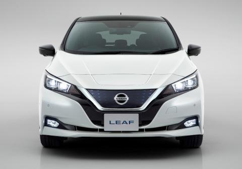 Nissan Leaf научился тормози…