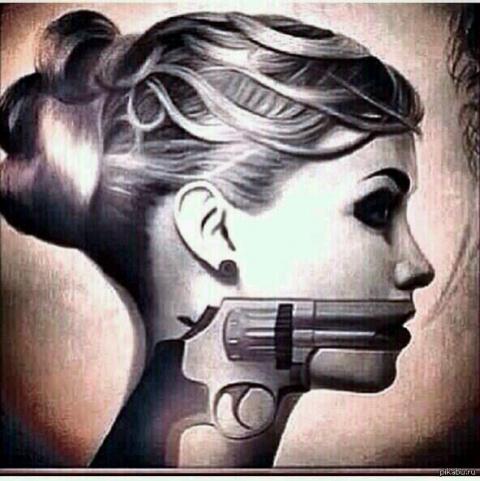Мужское оружие бессильно пер…