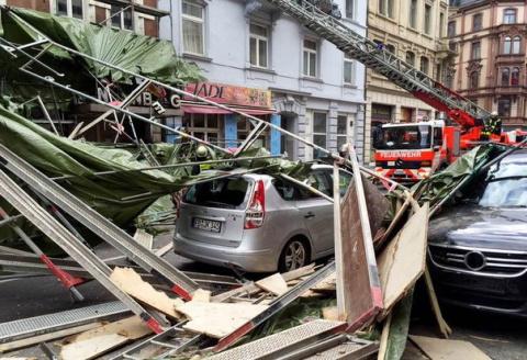 В Берлине обрушился дом, пог…