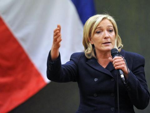 Ле Пен покинула «Национальный фронт» — СМИ