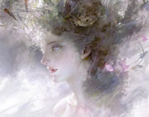 Мир фэнтези в цифровой живописи китайского художника Guangjian Huang