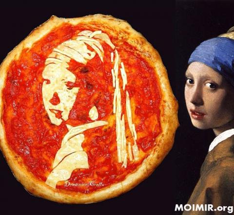 Пицца Маргарита, как произве…