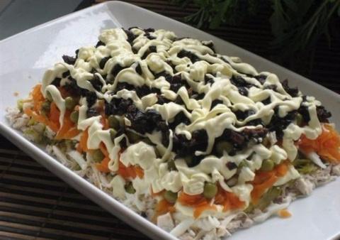 Рецепт этого салата будут вы…