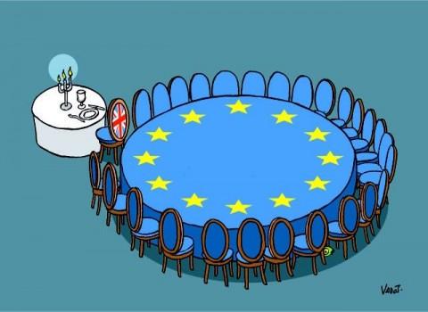 """Британия проигрывает """"единой Европе"""""""