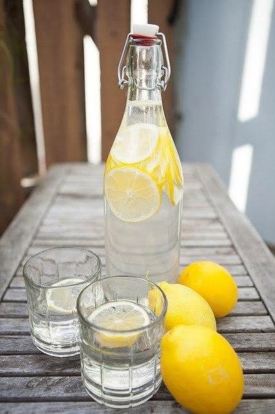 Зачем пить утром воду с лимоном?!