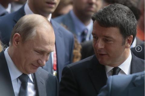 Путин в Италии: О санкциях, G7 и Украине