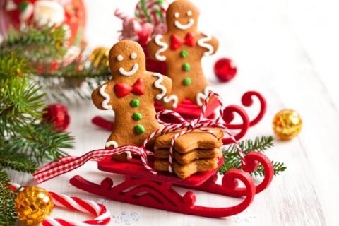 Печенье на Новый год: Имбирн…