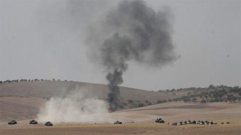 Опубликовано видео ракетного обстрела Турцией сирийского Африна