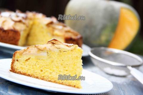 Рецепт тыквенного пирога.