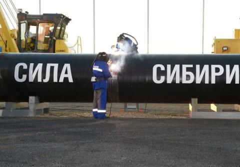 """""""Газпром"""" построил более половины газопровода """"Сила Сибири"""" - около 1095 км"""