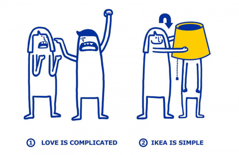 IKEA Shows How Easy It Is To Fix Your Love Problems