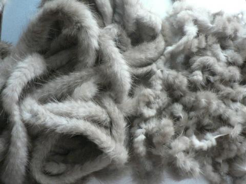 Делаем меховую пряжу (Diy)