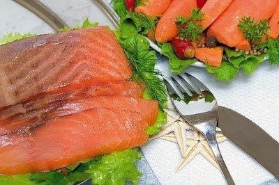 Красная рыба засоленная... в…