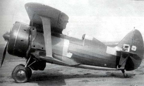 Серийный И-153 с мотором М-63, 1940 год