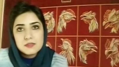 Осужденной в Иране художнице грозит наказание за пожатие руки мужчине