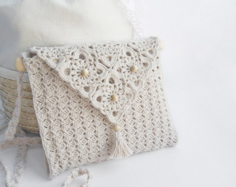 Красивая летняя сумочка. Схемы