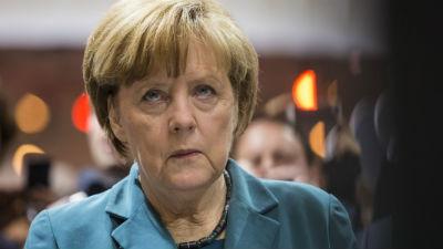 Меркель заявила об отчаянии …