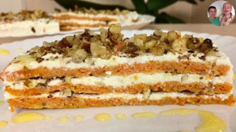 Самый лучший морковный торт